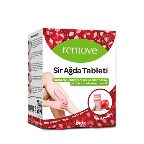 Remove Sir Ağda Tableti Nar & Pudra 240 Gr
