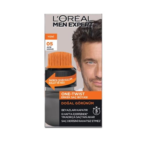 L'Oréal Paris Men Expert One-Twist Erkek Saç Boyası Açık Kahve 05
