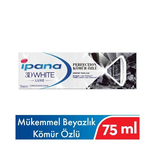 İpana 3D White Luxe Perfection Kömür Özlü Diş Macunu 75 Ml
