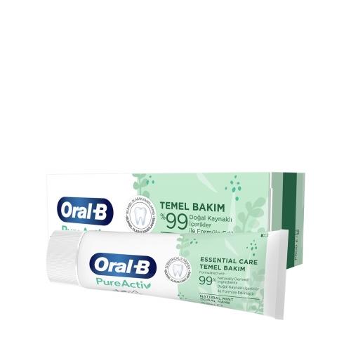 Oral-B PureActiv Temel Bakım Diş Macunu 75 Ml