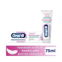 Oral-B Professional Hassasiyet ve Diş Eti Rahatlama Ekstra Ferahlık Diş Macunu 75 Ml