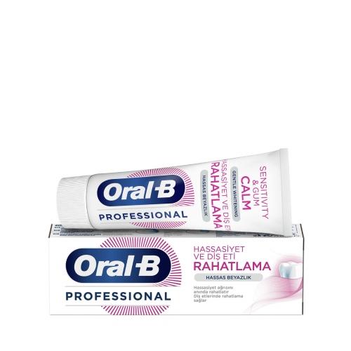 Oral-B Professional Hassasiyet ve Diş Eti Rahatlama Hassas Beyazlık Diş Macunu 75 Ml