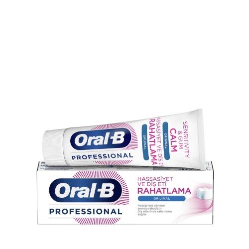 Oral-B Professional Hassasiyet ve Diş Eti Rahatlama Orijinal Diş Macunu 75 Ml