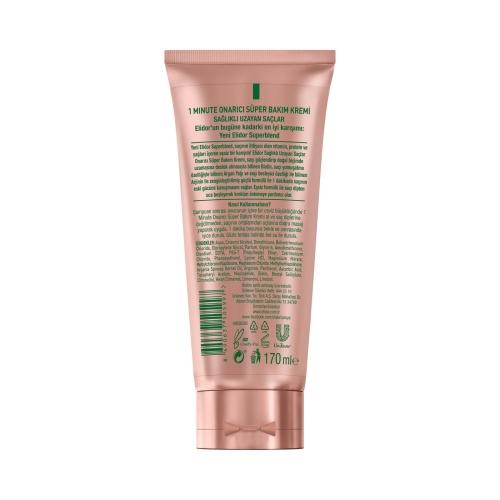 Elidor 1M Süper Saç Kremi Sağlıklı Uzayan Saçlar 170 Ml