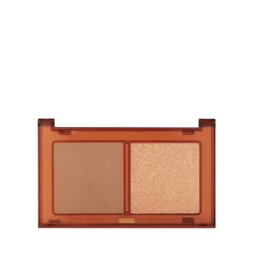 Pastel Profashion Bronzer & Higlighter Set Sun Kissed No:02 Tan Bronze & Heat Glow