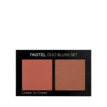 Pastel Profashion Duo Blush Set Cheek To Cheek No:20 Warm Honey
