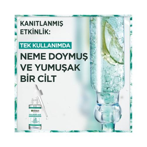 Garnier Hyaluronik Aloe Nemle Dolgunlaştıran Süper Serum 30 Ml