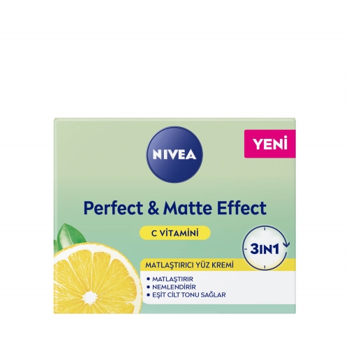 Nivea Perfect&Matte C Vitaminli Yüz Bakım Kremi 50 Ml